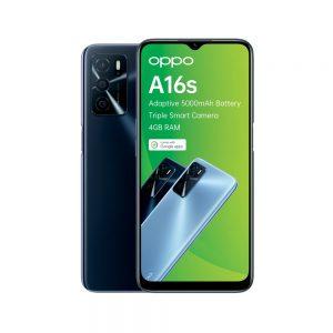 Oppo A16s in Black