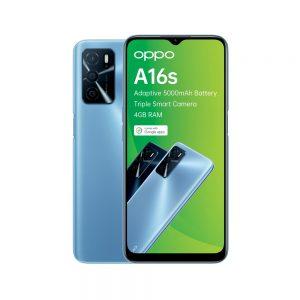Oppo A16s in Blue