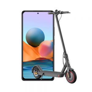 Xiaomi Redmi note10s + mi electric scooter